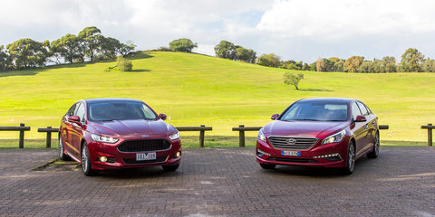 Hyundai Sonata Premium v Ford Mondeo Titanium : Comparison Review