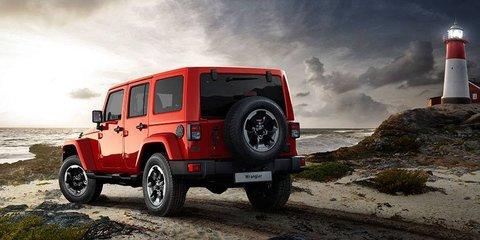 Jeep Wrangler X arrives