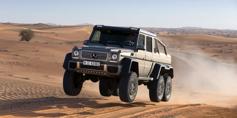 Mercedes-Benz ends production of 6x6 G-Wagen