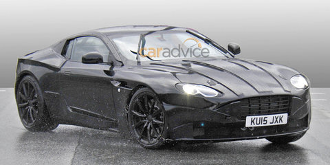 Aston Martin DB9 successor spy photos