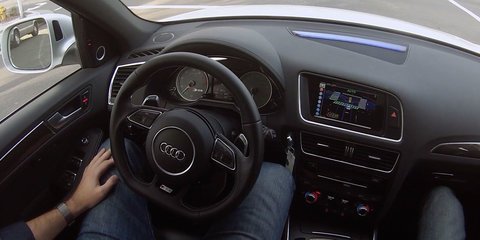 Delphi's autonomous Audi SQ5 completes trip from San Francisco to New York City
