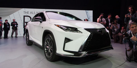 2016 Lexus RX revealed