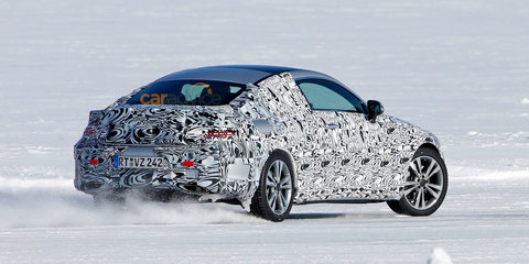 2016 Mercedes-Benz C-Class coupe spied drifting in Sweden