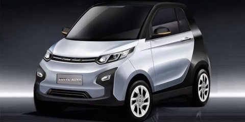 Zotye E01: Chinese EV fuses four cars into one