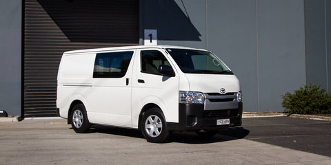 2015-16 Toyota HiAce recalled for door latch fix: 500 vehicles affected