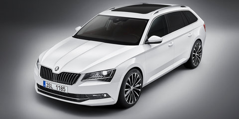 2016 Skoda Superb Combi wagon revealed