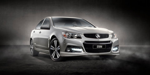 Holden Commodore Storm special edition returns