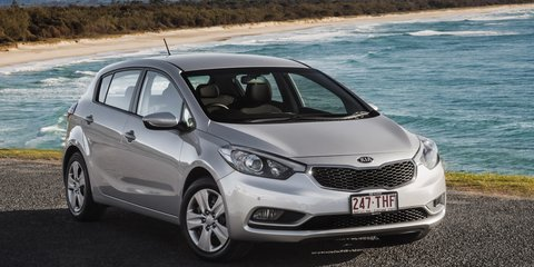 Kia Australia's sales on an upward march