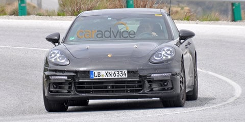 2016 Porsche Panamera plug-in hybrid spy photos