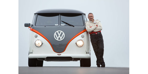 Volkswagen T1 Race Taxi with twin-turbo Porsche drivetrain on show at Worthersee
