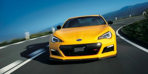 2015 Subaru BRZ tS limited edition goes Sunrise Yellow