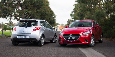 Mazda 2 Old v New Comparison: Second-generation Maxx v third-gen Maxx