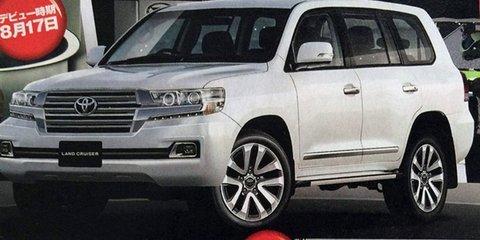 2016 Toyota LandCruiser 200 Series leaks online