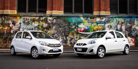 Nissan Micra ST v Suzuki Celerio : Comparison Review