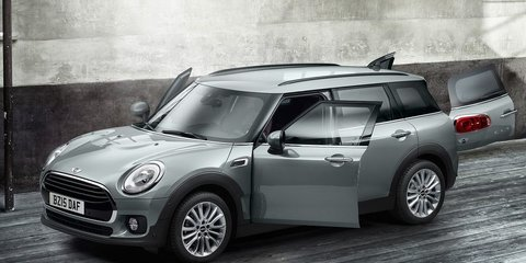 2016 Mini Clubman revealed