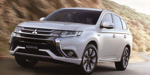 2016 Mitsubishi Outlander PHEV revealed - UPDATE