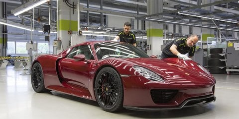 Porsche 918 Spyder production ends