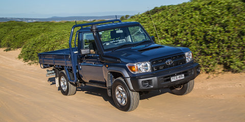 2015 Toyota LandCruiser 70 Review