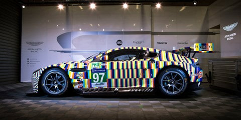Aston Martin Vantage GTE art car will race in 24 Hours of Le Mans