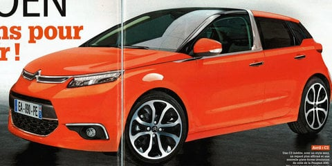 Citroen C3 and C4 rendered by French magazine