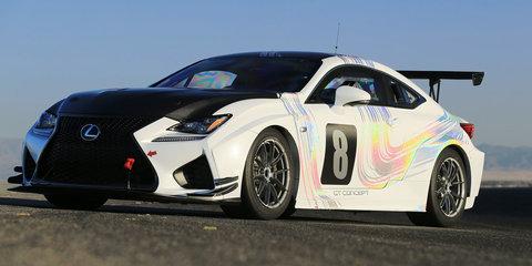 Lexus RC F GT Concept will tackle 2015 Pikes Peak Hill Climb