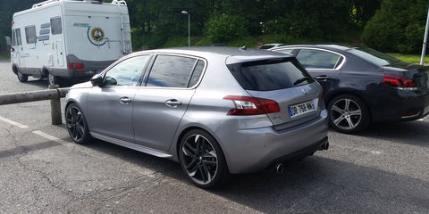 "Peugeot 308 ""GTi"" spotted undisguised prior to Goodwood debut"