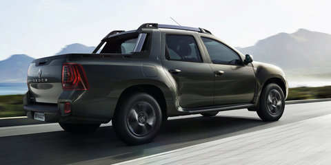 Renault Duster Oroch ute unveiled - UPDATE