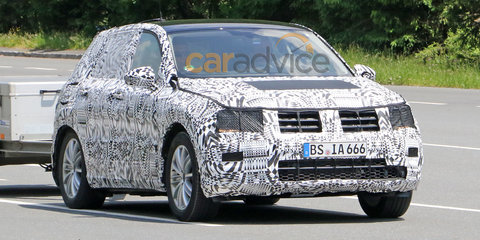 2016 Volkswagen Tiguan spy photos