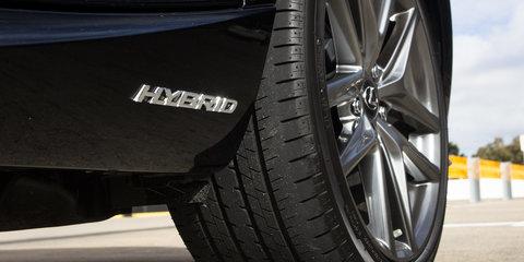 Lexus has no plug-in hybrid plan yet
