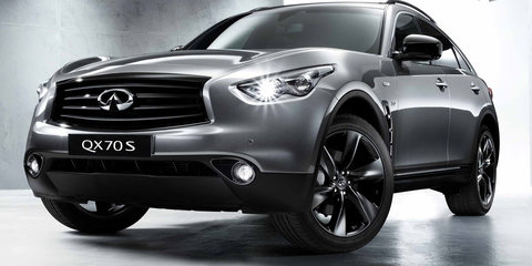 Infiniti Australia pushing for performance SUVs