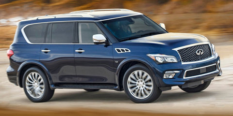 2016 Infiniti QX80: pricing and specifications