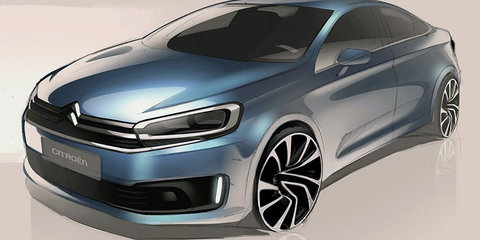 2017 Citroen C4: teaser sketches may hint at new hatch