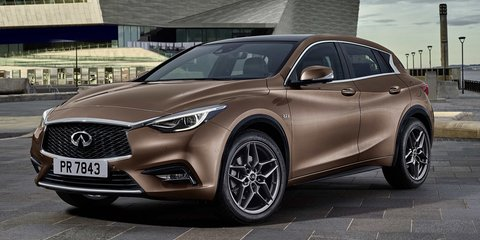 2016 Infiniti Q30 revealed in new leaked shot