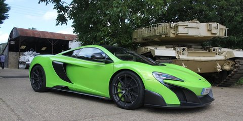 McLaren 675LT claims title of lightest car in class and 2.9 sec from 0-100