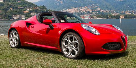2015 Alfa Romeo 4C Spider Review : Lake Como, Italy