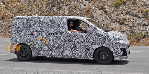 2016 Citroen Dispatch spy photos