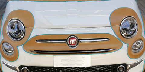 Leather-clad Fiat 500 unveiled