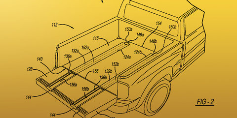 Ram Ramps: patent application reveals integrated loading design for big pickups