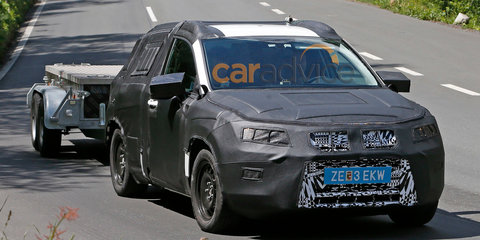 Seat SUV spied during the day