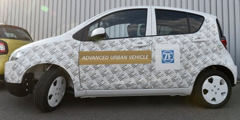 ZF debuts Advanced Urban Vehicle concept