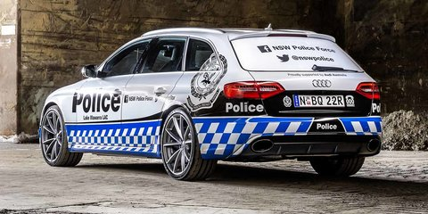 Audi RS4 :: 331kW performance wagon joins NSW police force