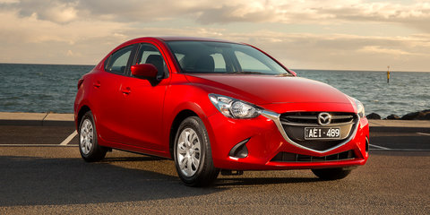 2016 Mazda 2 sedan pricing and specifications