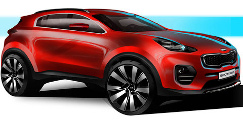 2016 Kia Sportage previewed ahead of Frankfurt debut