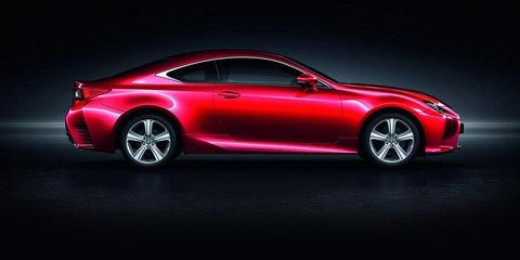 2016 Lexus RC200t revealed, Australian launch confirmed for December