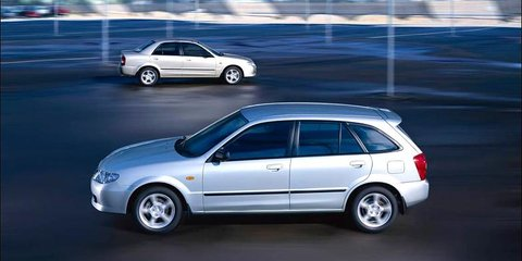 2002 Mazda 323 Astina Shades Review