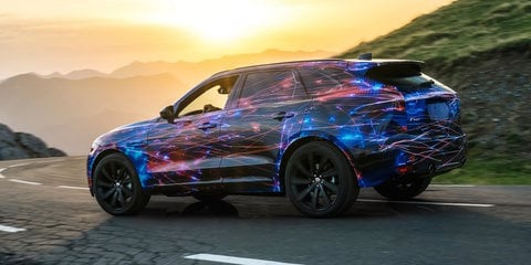 Jaguar F-Pace to share chassis tech with F-Type