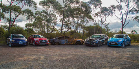 Citroen DS3 DSport v Holden Astra GTC Sport v Hyundai Veloster SR Turbo v Kia Pro_cee'd GT : Comparison Review