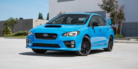 Subaru WRX, WRX STI and BRZ limited edition Hyper Blue models coming to Australia