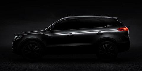 Geely NL-3 SUV teased