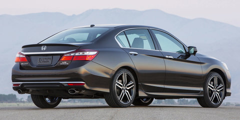 2016 Honda Accord US facelift detailed, Australian debut unclear